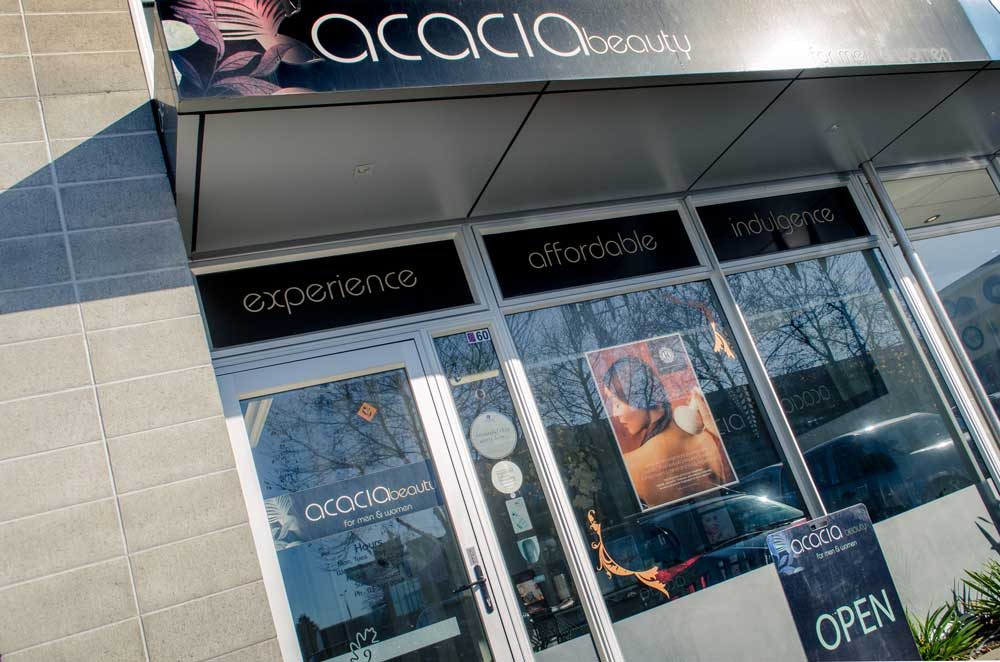 About acacia skin health beauty for Acacia beauty salon