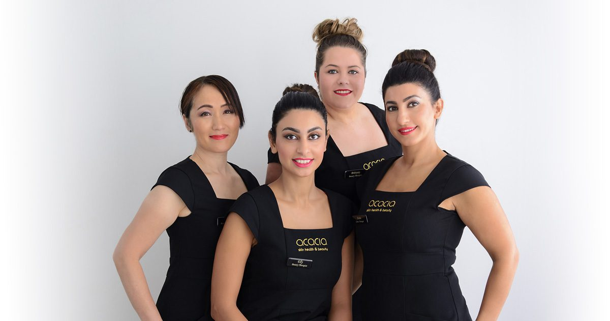 Acacia beauty staff