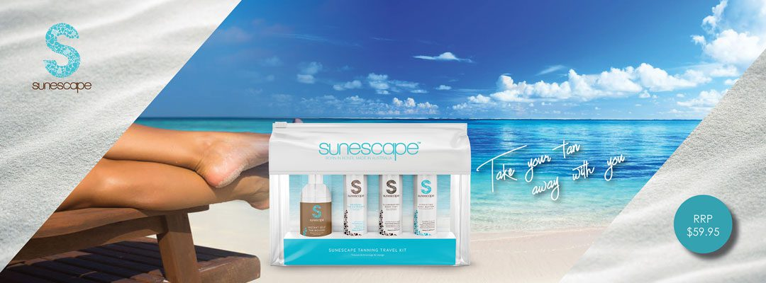 Sunescape tanning products special