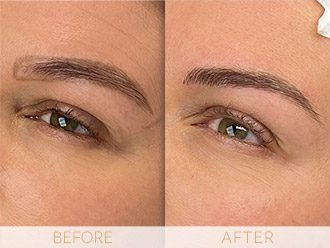 Microblading Before & After BROWS March Bianca