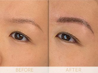 Microblading Before & After BROWS March Mina