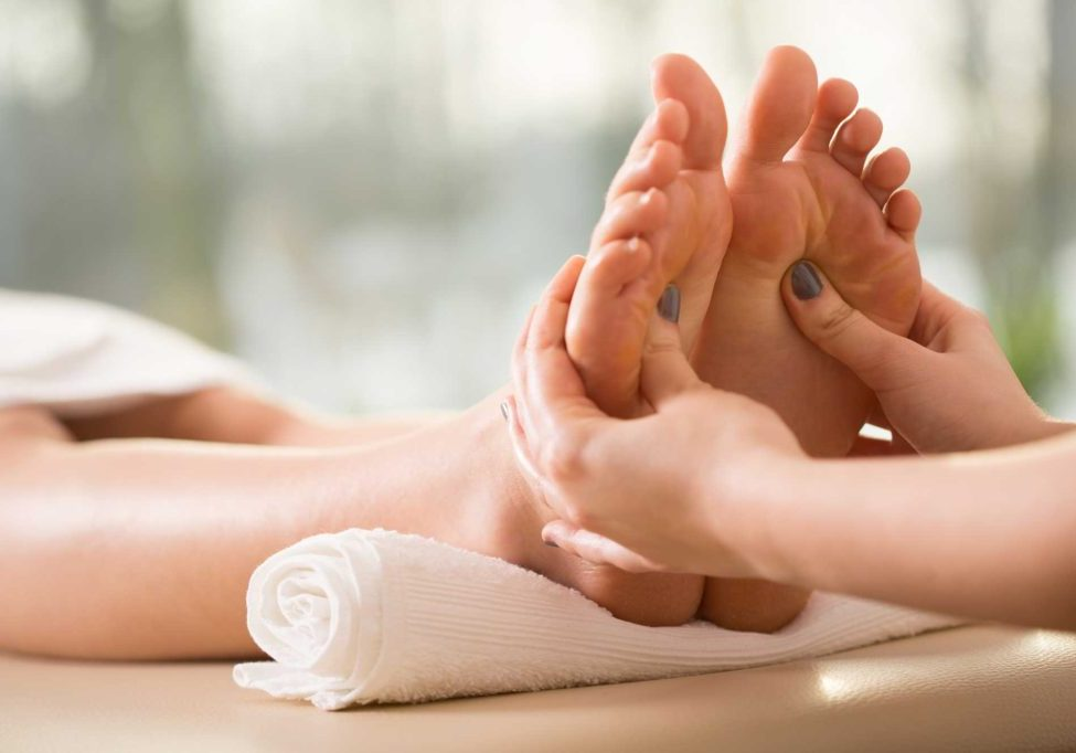 Feet Reflexology foot massage